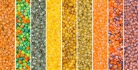 Luminous Monday - Exclusive Mix of Miyuki Delica Seed Beads