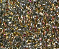 Marea Czech Rizo Seed  Beads - 8 Grams