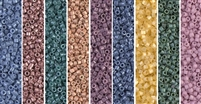 Tuscan Monday - Exclusive Mix of Miyuki Delica Seed Beads