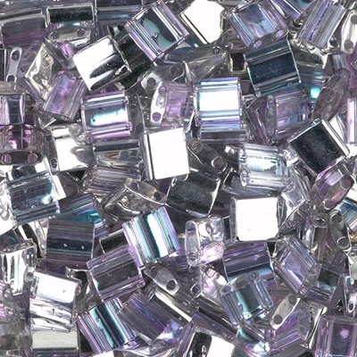 7.2 Grams TL4574 Crystal Vitrail Light Czech Coating on Miyuki Tila Beads