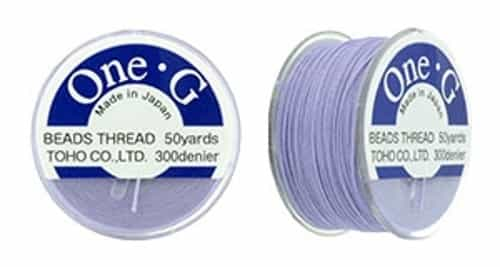 TOG-19 - Toho One-G Beading Thread : Light Lavender - 50 Yards
