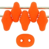 SuperDuo 2/5mm : 8 Grams - TSD-25122 Neon Orange