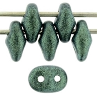 SuperDuo 2/5mm : 8 Grams - TSD-79051 Metallic Suede - Light Green