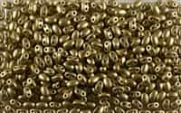 SUPERDUO BEADS 2.5x5mm 8 Grams MATTE GOLDEN OLIVE