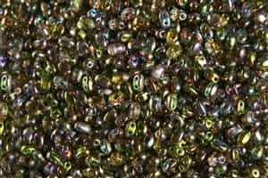 SUPERDUO BEADS 2.5x5mm 8 Grams MAGIC YELLOW BROWN
