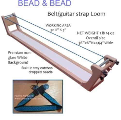 Guitar Strap/Belt Bead and Bead Loom