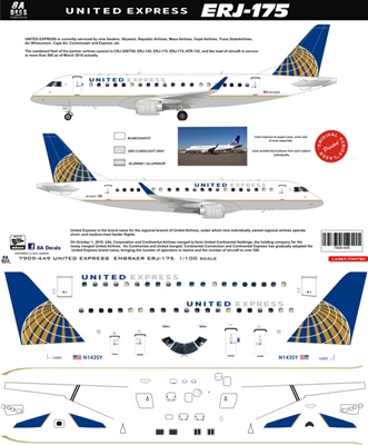 1:100 United Express Embraer 175