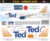 1:144 TED (by United) Airbus A.320
