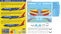 1:144 Southwest Airlines (2015 cs) Boeing 737-700, -800, -MAX8 with Coco