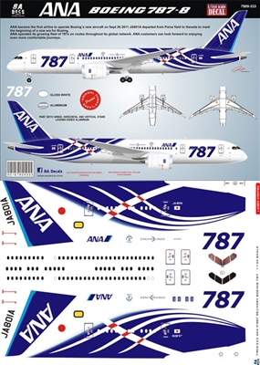 1:144 All Nippon Airways Boeing 787-8