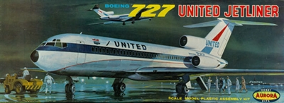1:96 Boeing 727-100, United Airlines