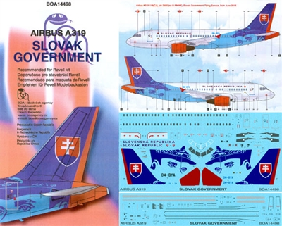 1:144 Slovak Government Airbus A.319