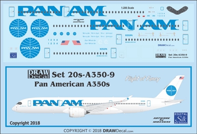 1:200 Pan Am 'billboard' Airbus A.350-900