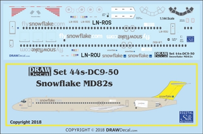 1:144 Snowflake McDD MD80