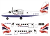 1:144 DHC-6 Twin Otter 300, British Airways