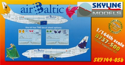 1:144 Boeing 737-500, Air Baltic