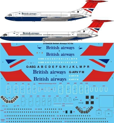 1:144 British Airways VC-10 / Super VC-10