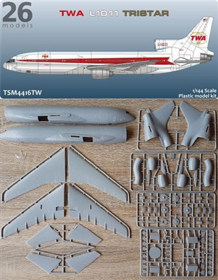 1:144 L.1011 Tristar 200, Trans World Airlines