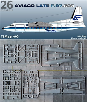 1:144 Fokker F.27-600 Friendship, Aviaco