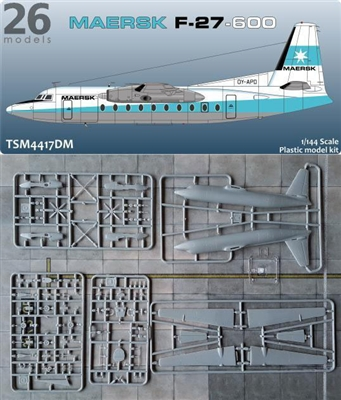 1:144 Fokker F.27-600 Friendship, Maersk Air