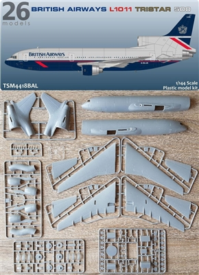 1:144 L.1011 Tristar 500, British Airways (Landor cs)