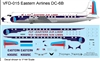 1:144 Eastern Airlines (1955 cs) Douglas DC-6B