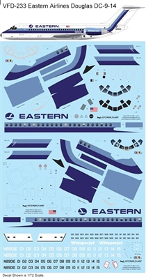1:144 Eastern Airlines (delivery cs) Douglas DC-9-14
