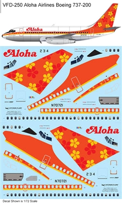 1:144 Aloha Airlines Boeing 737-200
