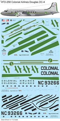 1:144 Colonial Airlines Douglas DC-4