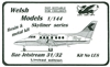 1:144 Bae 3100 Jetstream 31, Canadian Partner