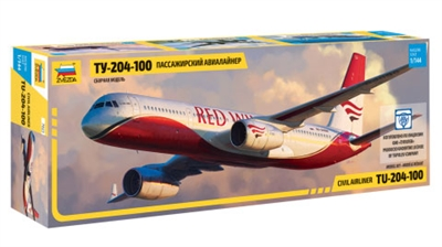 1:144 Tupolev 204-100, Red Wings