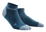 CEP Low Cut Running Socks Blue/Green