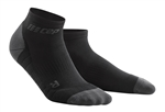 CEP Low Cut Running Socks Black/Grey