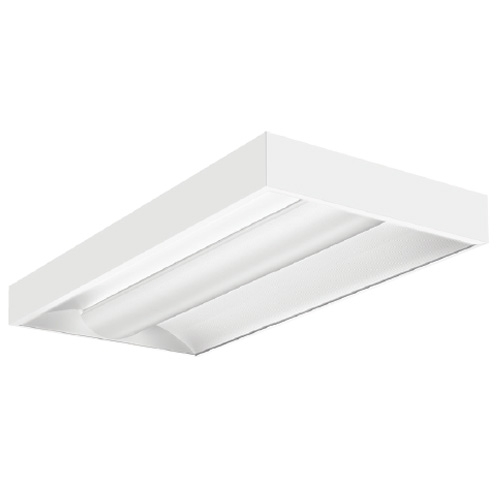 Lithonia Lighting 2 ft. x 4 ft. White Integrated LED Lay ...