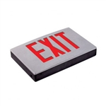 Exitronix Universal Die-cast Aluminum LED Red Exit Sign