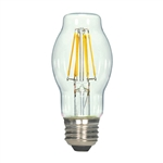 Satco LED BT15 Bulb 6.5BT15/CL/LED/E26/27K/120V S9269