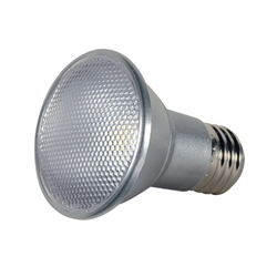 Satco LED PAR20 Bulb 7PAR20/LED/25'/2700K/120V/SP S9400