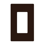 Lutron Claro Designer Style Wall Plate - CW-1-BR
