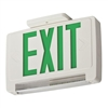 Lithonia LED Green Integrated Exit-Unit Combo