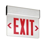Lithonia LED Surface Mount Edge Lit Exit Sign