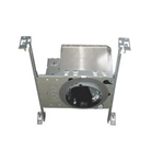 "ELco Lighting - 4"" Miniature Airtight IC Housing with Adjustable Lamp Holder"