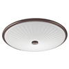 Lithonia Sunbriar LED Flush Mount - FMDCGL 16 20830 BZ M4
