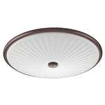 Lithonia LED Sunbriar Flush Mount FMDCGL 16 20840 BZ M4