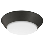 "Lithonia LED Versi Lite 7"" Bronze Flush Mount"
