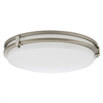 Lithonia LED Saturn Flush Mount FMSATL 13 14840 BN M4
