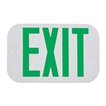 Exitronix Thermoplastic LED Green Exit Sign