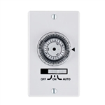 Intermatic - 24-Hour Electromechanical In-Wall Timer - KM2ST-1G