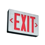 Lithonia LED Surface Mount Die Cast Aluminum Exit Sign