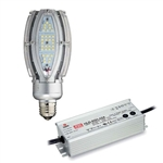 Light Efficient Design - Dimmable External Driver Post Top & Area LED Retrofit Lamp