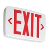 Lithonia Quantum Red LED Exit Sign With Emergency Battery